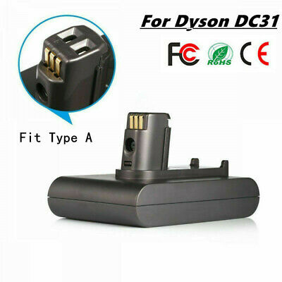 For Dyson DC31 22.2V 2.2Ah Li-ion Battery DC34 DC35 DC44 Type A Vacuum Cleaner