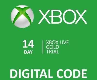 🎮🔑Xbox Live 14 Day 2 week Gold Membership Trial Code AUTO DISPATCH EMAIL🔑🎮