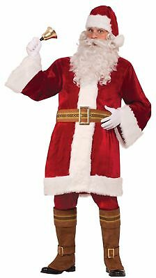 Old Time Victorian Santa Belt Claus Deluxe Vintage Christmas Costume Accessory