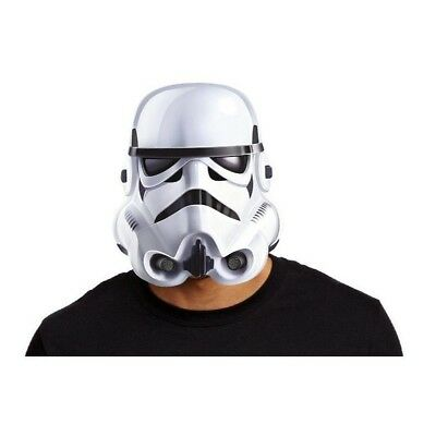 Star Wars Classic Stormtrooper Face Mask Poster Card Paper Costume Accessory