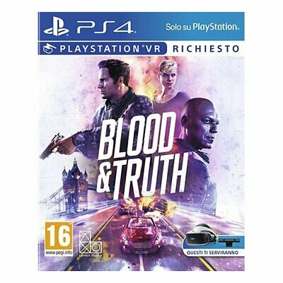 Blood & Sony Truth VR Required Azione 16+ PS4 9998594