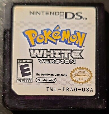Pokemon: White Version for Nintendo DS, CLEANED AND TESTED