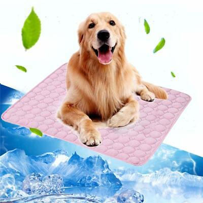 Summer Pet Dog Cooling Mat Ice Blanket for Puppy Cat Sofa Pad Bedding Cool Mats