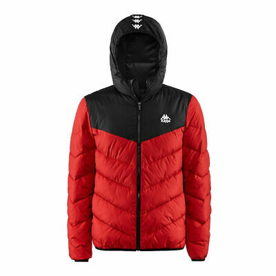 Mens Kappa Red/Black Authentic Amarit Jacket M