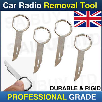 Ford Cmax Smax Cd Radio Stereo Removal Release Tool Key Pc5-132 X4