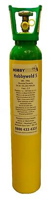 Hobbyweld 5 mig Welding Gas 9L 137 bar Deposit required - Collection Only