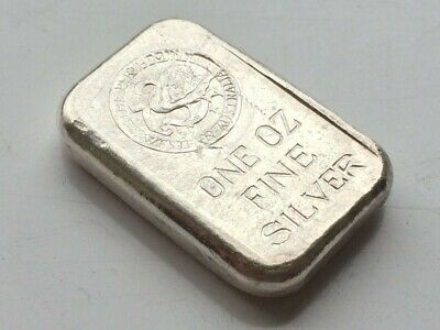 Extremely Rare One Ounce Perth Mint Vintage Silver Bar Serial Number 277