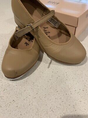 Bloch Tap Shoes Tan Size 13