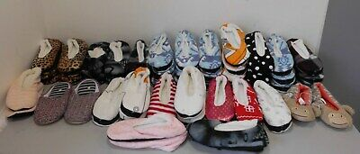 Job Lot Wholesale Brand New Mixed Cozy Slouchy Fluffy Soft Slippers 46 Pairs