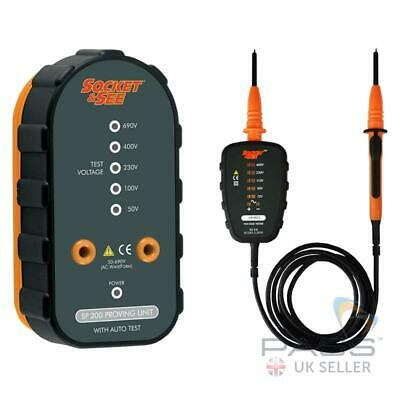 Socket and See Voltage Tester and Proving Unit Kit (VIP PRO/SP200)