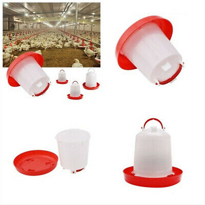 3/6/8/10 L Feeder Drinker Chicken/Poultry/Chick/Hen Food&Water Accesories Fill