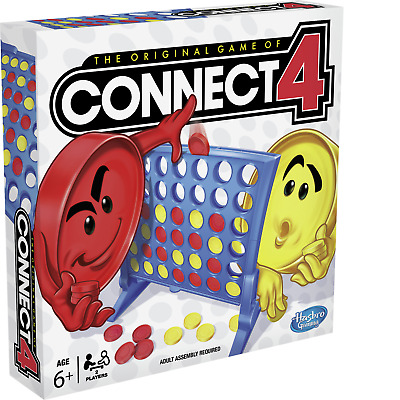Hasbro Gaming Connect 4 Grid Board Game - 2 + Players 6+ Years