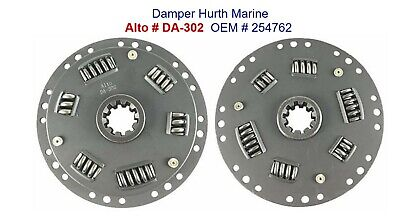 Replacement Damper for Hurth ZF Marine Transmission 254762 10 Spline