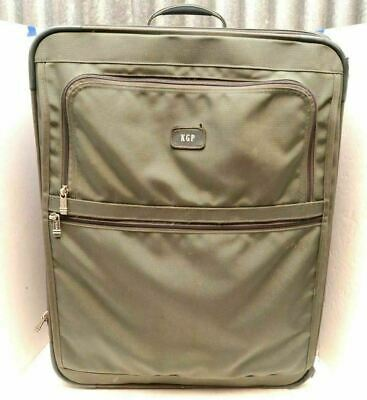 "Tumi 228TM3 28"" Expandable Wheeled Rolling Green Luggage suitcase upright bag"