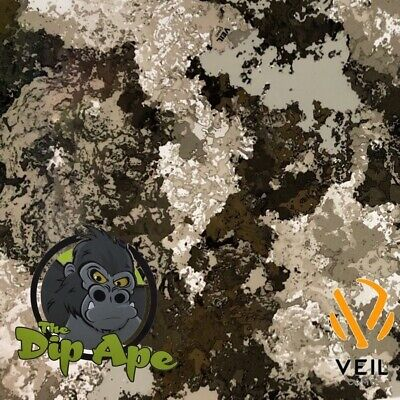 Hydrographic Film Veil West River Camouflage Camo Hydro Water Transfer Dip Ape