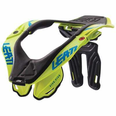 Leatt Gpx 5.5 Mx And Enduro Mens Body Armour Neck Brace - Lime All Sizes