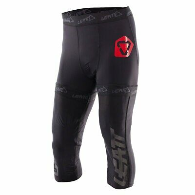 Leatt Mx Motocross And Enduro Pants Mens Body Armour Shorts - Black All Sizes