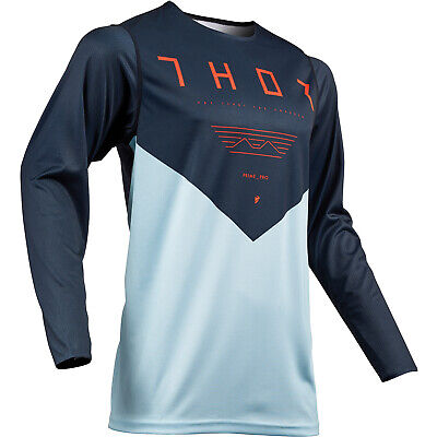 Thor Prime Pro Mens Jersey Moto - Blue All Sizes