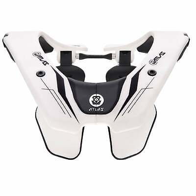 Atlas Airbrace Mens Body Armour Neck Brace - Ghost Rider All Sizes