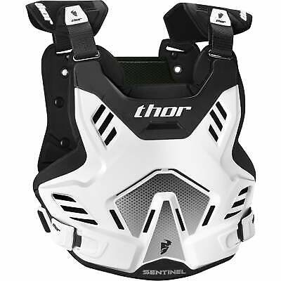 Thor Sentinel Gp Protector Unisex Body Armour Chest Protection - White All Sizes