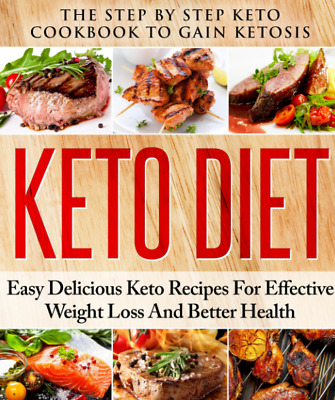 Keto Diet Cookbook to Gain Ketosis PDF eBook EBOOKS e BOOK master Resell Right !
