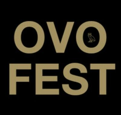 2 Tickets- OVO Fest GA-Lawn 1 Budweiser Stage $500 Each (Aug 4 @6:30pm)