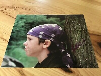 Freddie Highmore Vintage Signed 8x10 Color Photo Finding Neverland Photo Lot COA