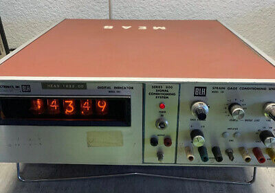 VINTAGE! BLH Electronics Signal Conditioning System [Model-904/845]
