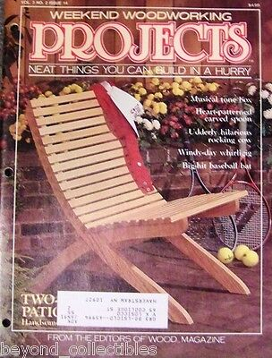 Craft Book - Weekend Woodworking Projects - 4 Issues #14 - 17 - 18 - 19