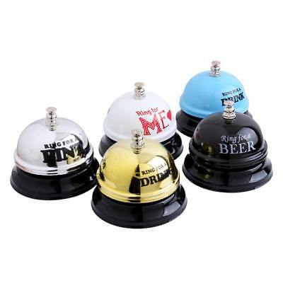 Durable Iron Hotel Counter Desk Bell Ring For Service Call Bells Accessories JI