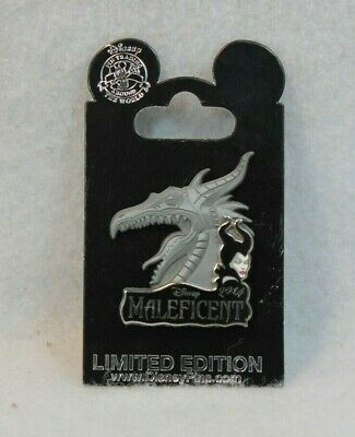Disney Parks LE 3000 Pin Maleficent Film Opening Day Sleeping Beauty