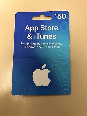 App Store & Itunes Gift Card $50 (EMAIL ONLY)