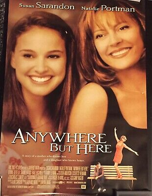 Anywhere But Here Original 2-Sided Movie Poster 27x40 Natalie Portman Susan