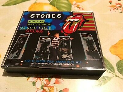 """Rolling Stones: """"No Filter US Tour 2019- Soldier Field Chicago"""" Japan's 2cd/dvd"""