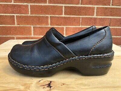 New Women/'s Canyon River Blues Coby Floral Embossed Clog 86150 Brown 20F lr