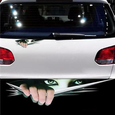 3D EYES PEEKING Monster Thriller Wing Body Decal Scary Funny
