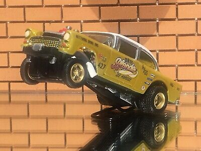 """Hot Wheels 55 Chevy Gasser """"Dirty Blonde""""CUSTOM-PAINT-Decals-Real Riders"""