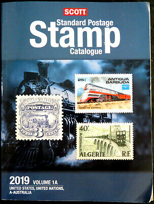 USED - Scott Stamp Catalog 2019 Volume 1A & 1B - COUNTRIES A-B