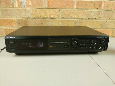 Sony MiniDisc Player/Recorder Analog Optical Digital In/Out MDS-JE510