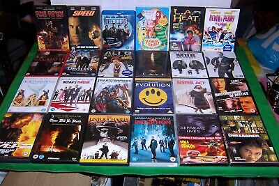 A LARGE JOB LOT OF 96 DVD'S and box sets, checked and working, post or collect