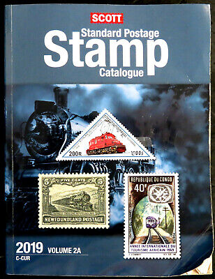 USED - Scott Stamp Catalog 2019 Volume 2A & 2B - COUNTRIES C-F