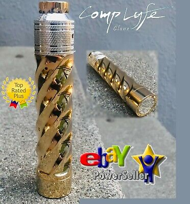 COMPLYFE VORTEX MOD FULLY Gold & Silver Plated 2-pOST bATTLE dECK Mini Cap