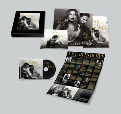 LAdy Gaga A Star Is Born Limited Edition Soundtrack CD Box Set posters booklet