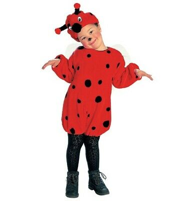 Ladybug Faschingsköstüm Childrens Fancy Dress Girl, Size 116 cm, 4-5 Years