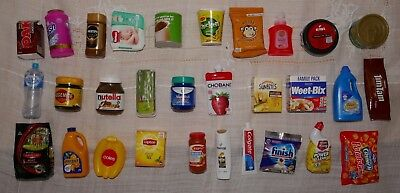 COLES LITTLE SHOP ONE COMPLETE SET OF 30 Mini Collectables No Case Included