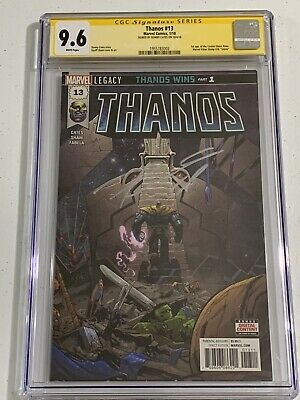 THANOS 13  1st print signed Donny Cates - CGC 9.6 Signature Series