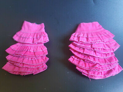 Lots 10 pcs Mini Dress(Pink short Skirt)  for 1/6 (11.5 Inch)  BJD Doll