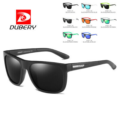 DUBERY Men Retro Vintage Polarized Sunglasses Driving Eyewear Shades Women UV400