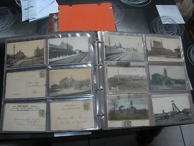 grosse collection,215 cartes postales d'Anderlues