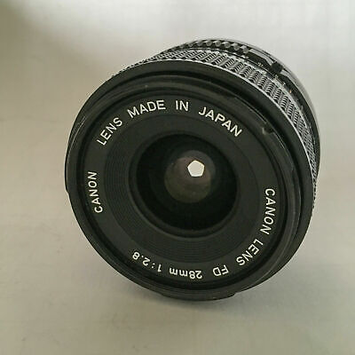 Lens Canon FD 28mm f/2.8 Brand New